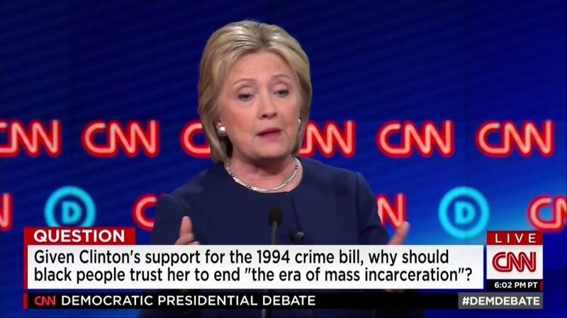 """1. Клинтон назвала членов молодежных группировок """"суперхищниками"""", выступая в подержку Закона о борьбе с преступностью Хиллари Клинтон, факты"""