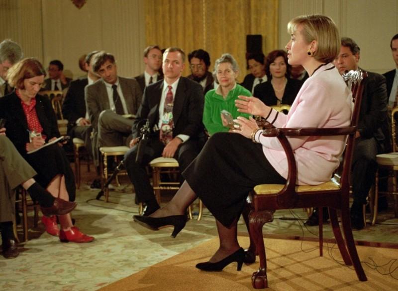 10. Первая и единственная первая леди, представшая перед судом Хиллари Клинтон, факты