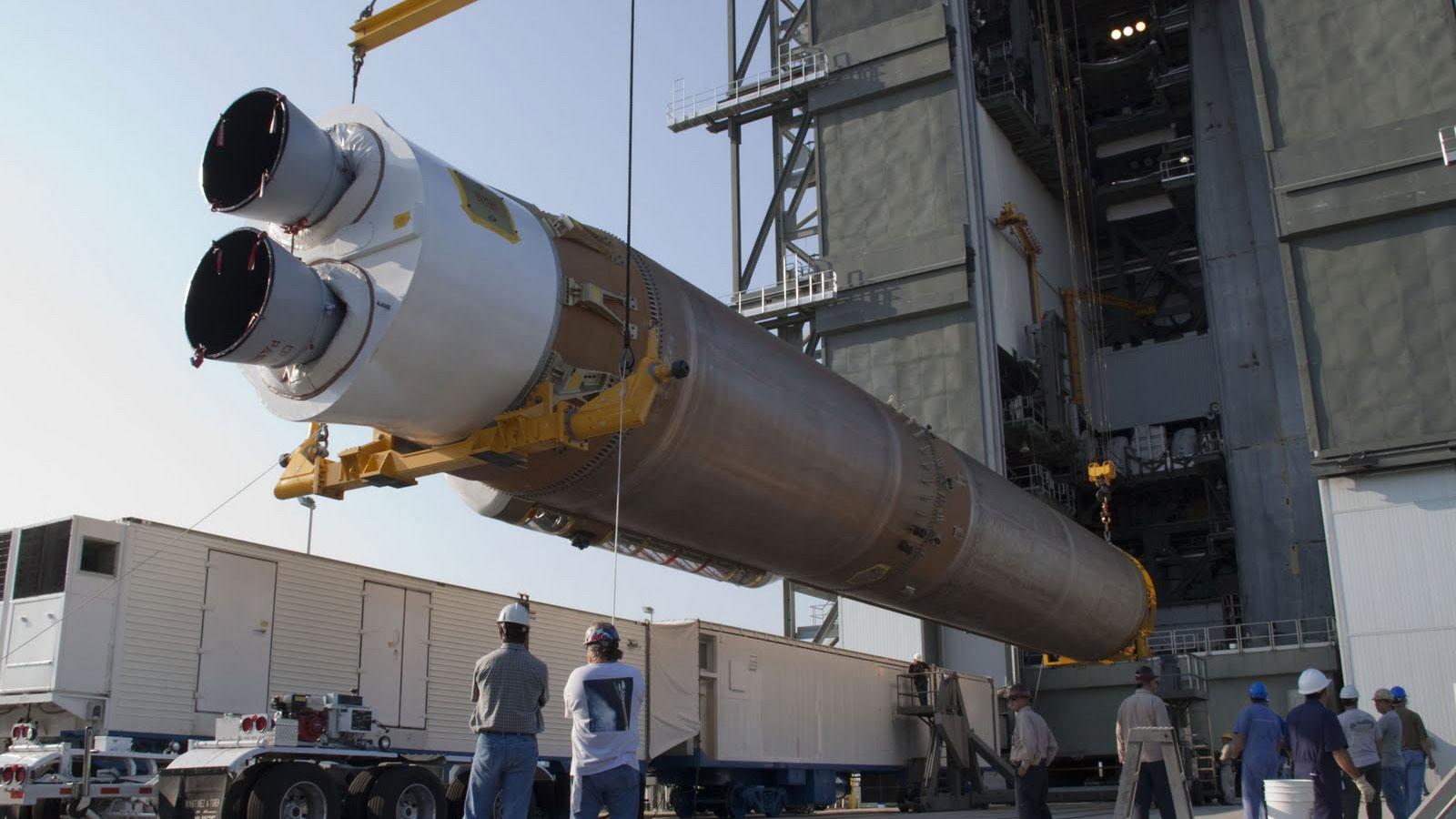 Ракета Атлас 5 с российским двигателем РД-180