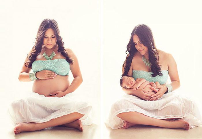 Прикольные, прикольные картинки до и после родов