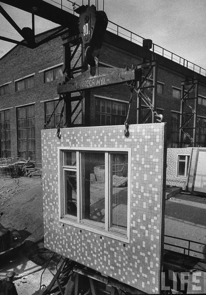 жилищное строительство при хрущеве