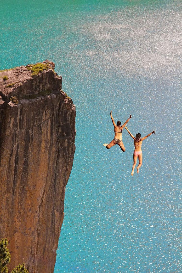 делать сон прыгаю с обрыва в воду сутки аренды