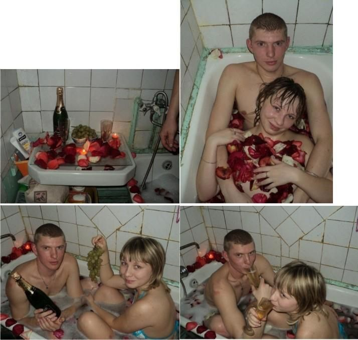 Муж жена подруга в ванной