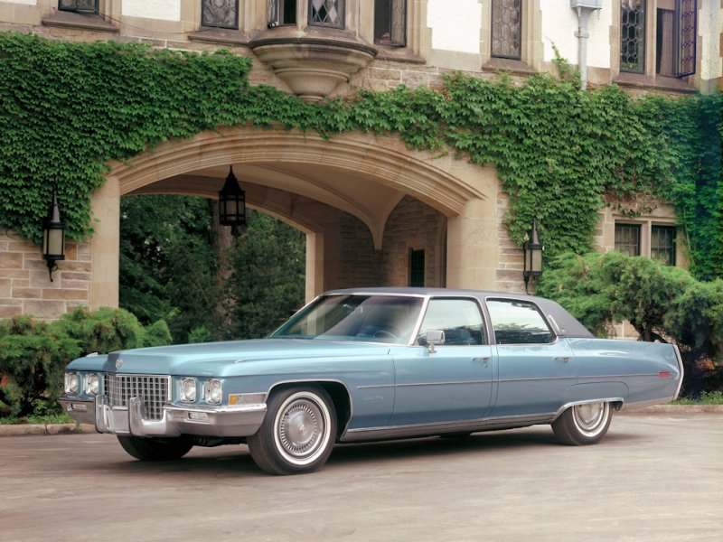 Cadillac Fleetwood Sixty Special Brougham (1971)