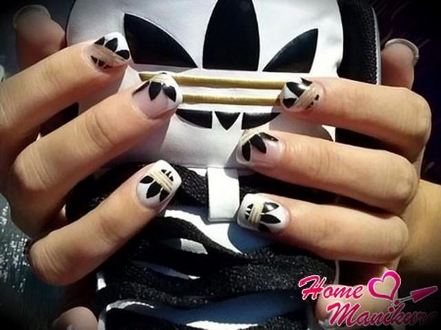 этой версии фото нарощенных ногтей с адидасом строительства