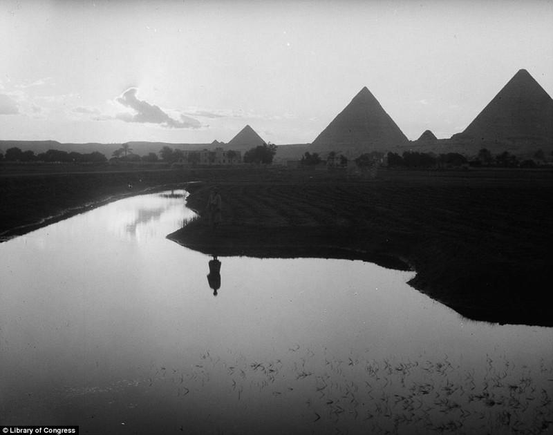 Атмосфера стремительно меняющегося Каира в 1900 – 1936 годах египет, каир, черно-белые фотографии