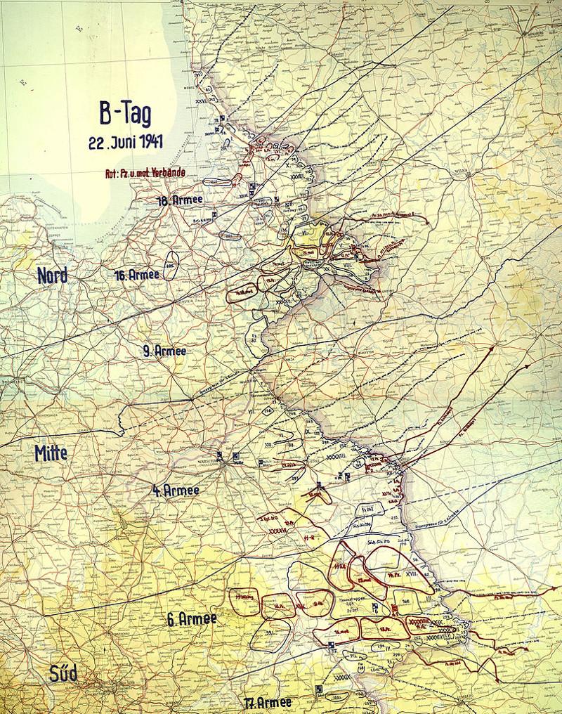 """План """"Барбаросса"""" 22 июня, Великая Отечественная Война, день памяти и скорби"""