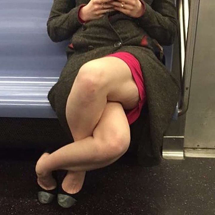 Женщина с гуттаперчевыми ножками животные, люди, позитив