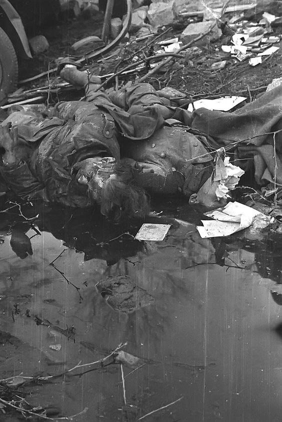 убитые солдаты сталинград фото