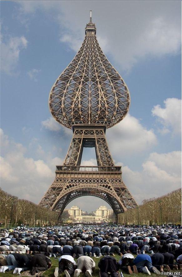 Франция в смешных картинках, днем