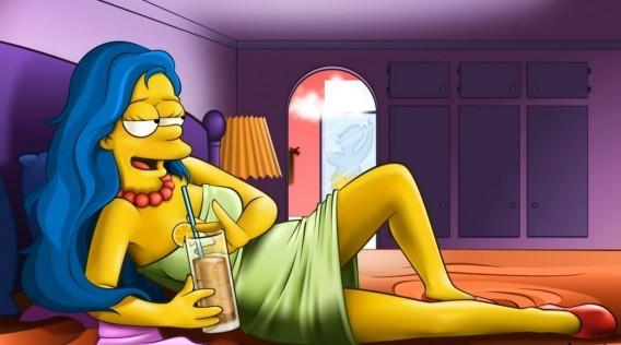 Симпсоны для взрослых 6 мульт порно секс комикс