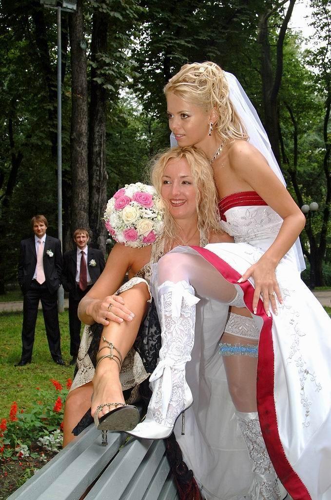 Эро фото подружек невест со свадеб