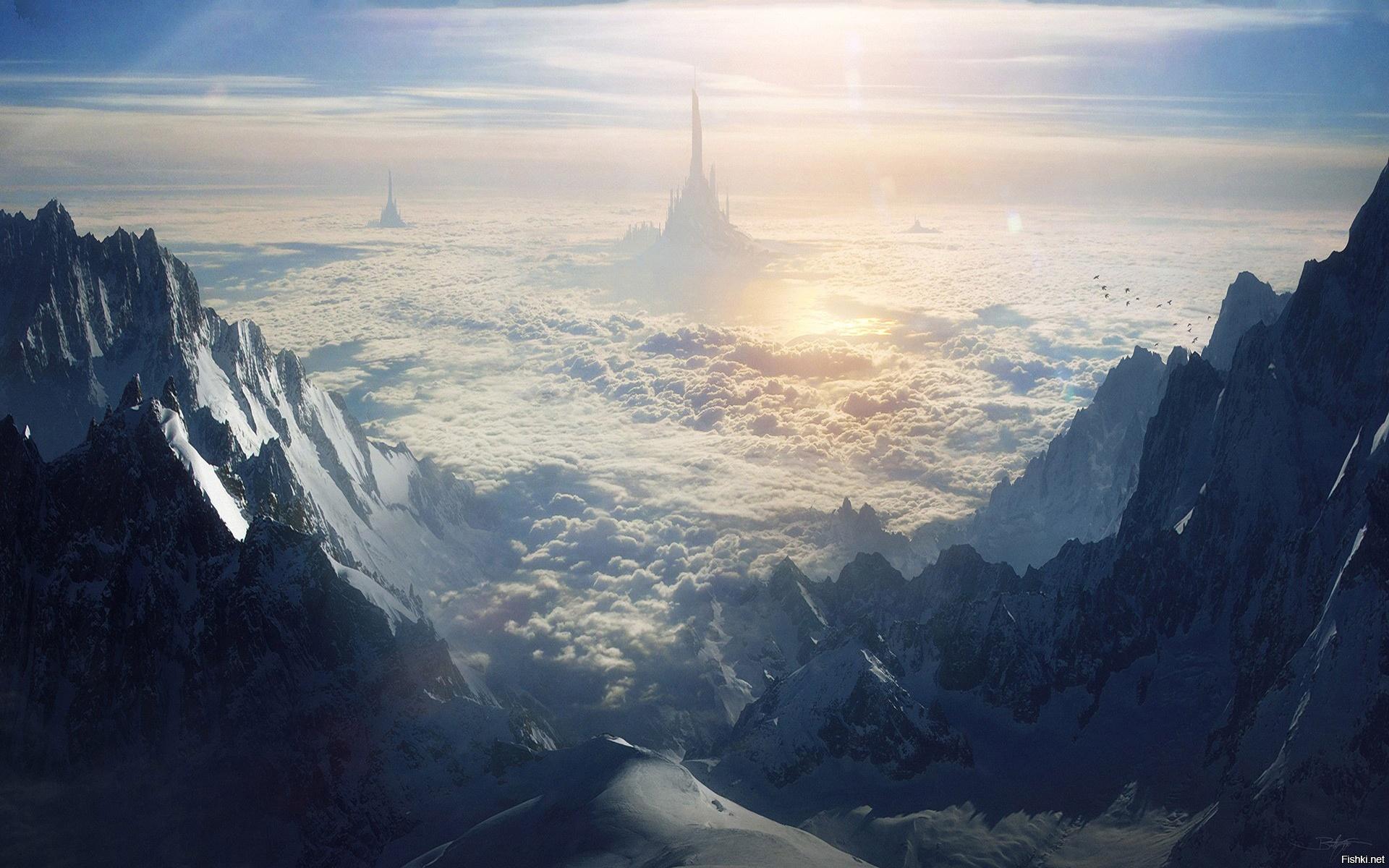горы небо русло без смс