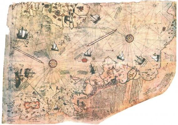 Карта Пири-реиса загадки, история человечества, находки, непознанное