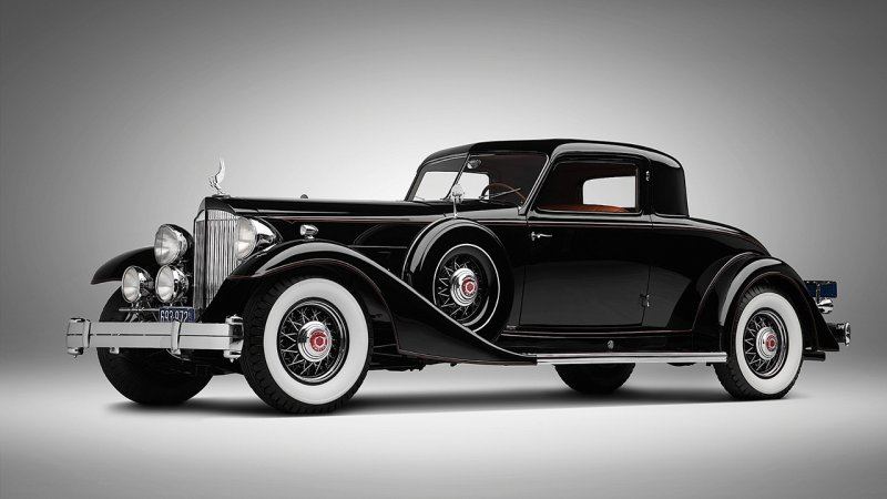 Packard Twelve Coupe 1933 года