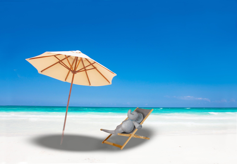 Картинка пляжный зонтик