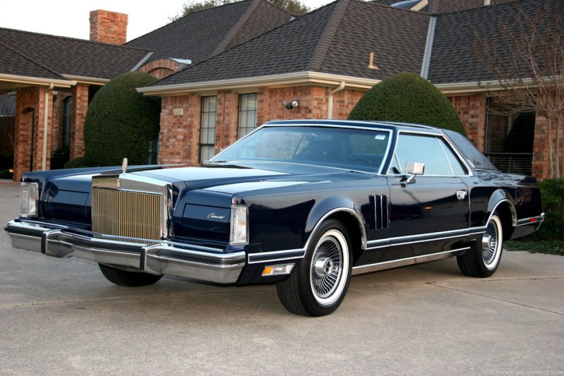 Lincoln Continental Mark V (1977-79)