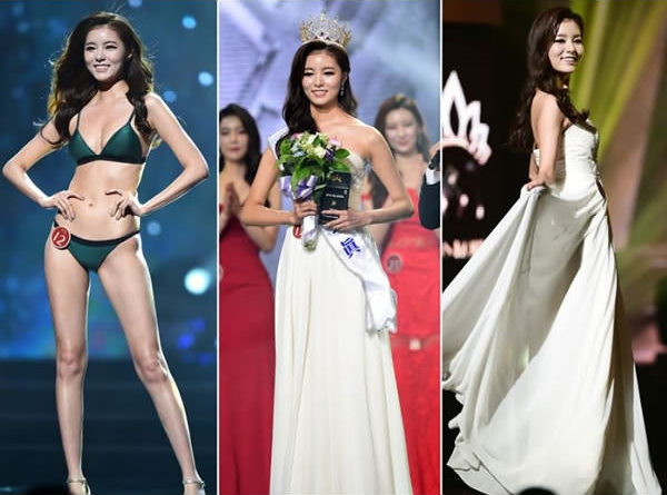 В итоге обладательницей короны стала участница номер 12. конкурс красоты, корея