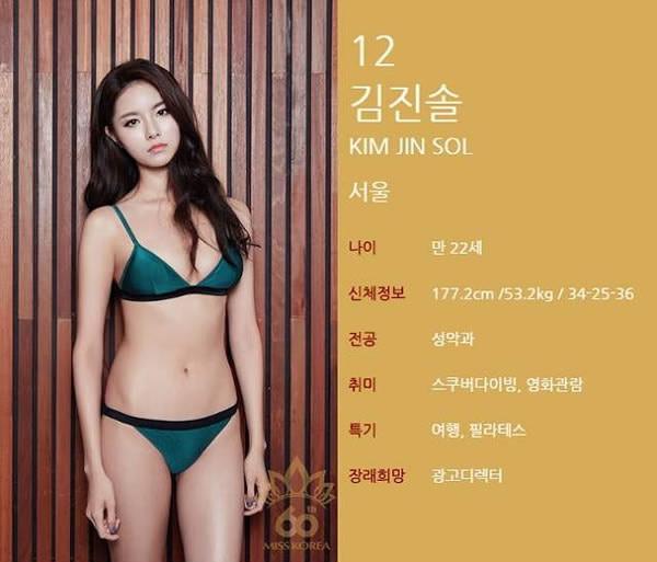 Многие убеждены, что это одна и та же девушка в 34 разных платьях. конкурс красоты, корея