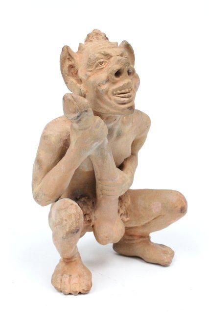 А вот тех, кому с мозгом не повезло, изображали примерно так: античность, древняя греция, искусство, маленький, пенис, статуя