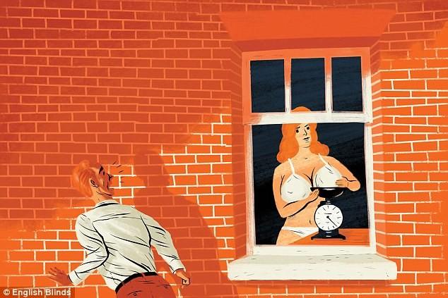 Заглянуть в окна женщины раздеваются