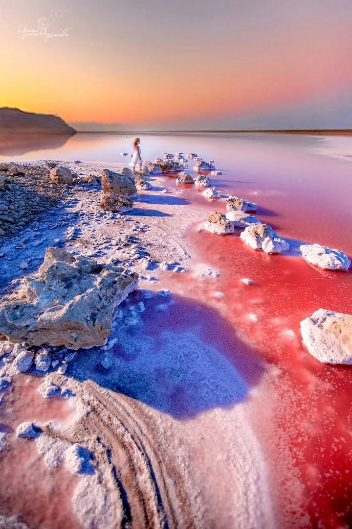 хорошего фотографа фото розового озера в крыму трагедии адмирал