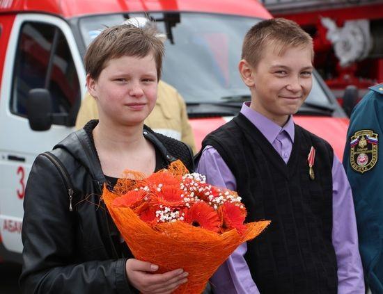 Алина Гусакова и Денис Фёдоров