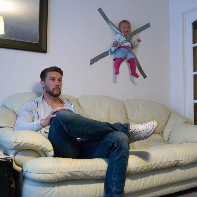 Некоторые родители прибегают к запрещенным приемам дети, прикол, родители, юмор