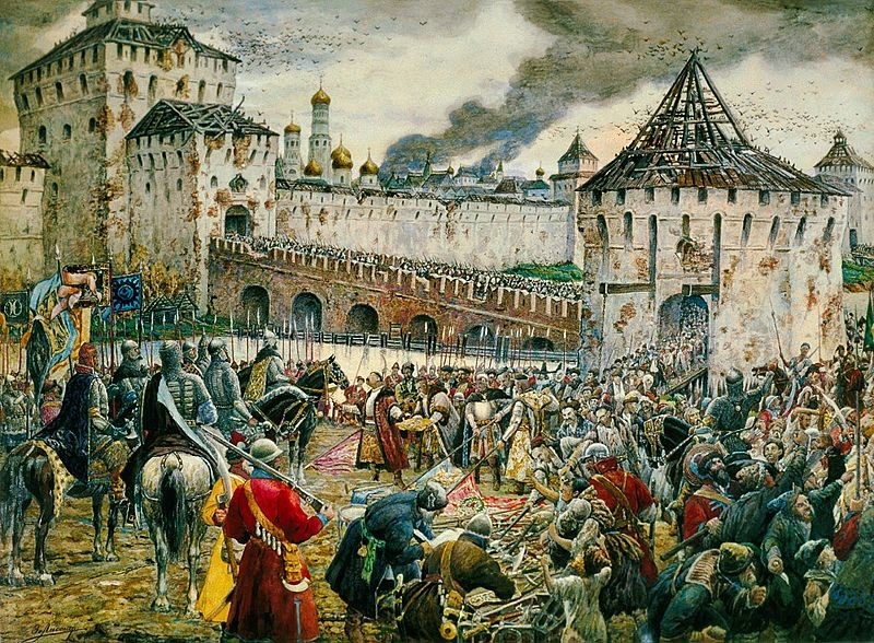 6. Московская битва (1612) Русский воин, армия, война, победа