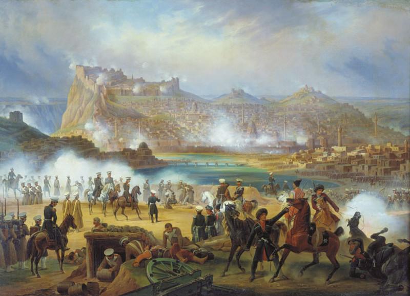 14. Взятие Эривани (1827 год) Русский воин, армия, война, победа