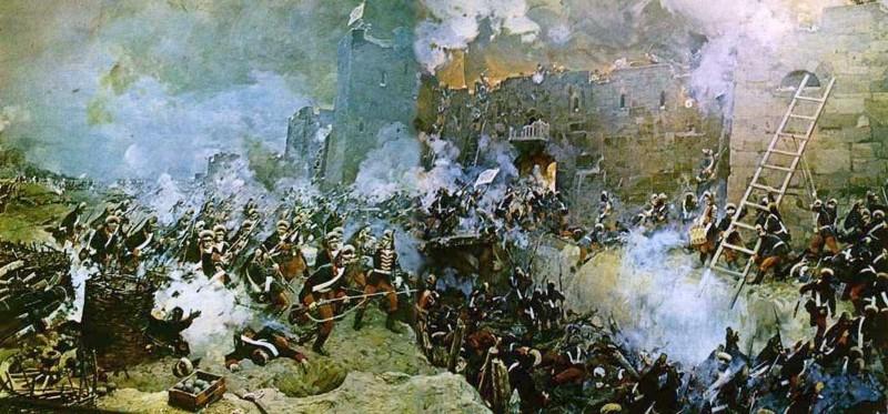 10. Взятие Измаила (1790 год) Русский воин, армия, война, победа