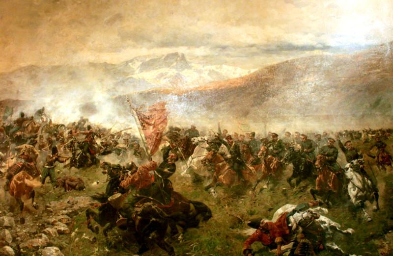 13. Сражение под Елисаветполем (1826 год) Русский воин, армия, война, победа