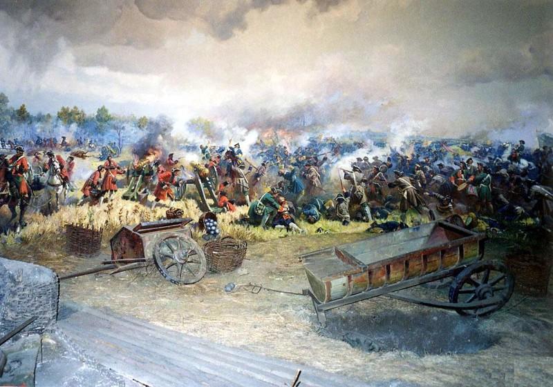 7. Полтавская битва (1709 год) Русский воин, армия, война, победа