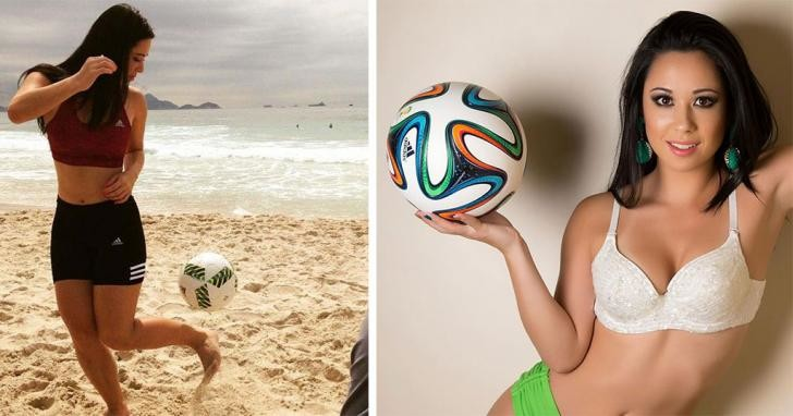 Бразилянка с шикарным телом видео