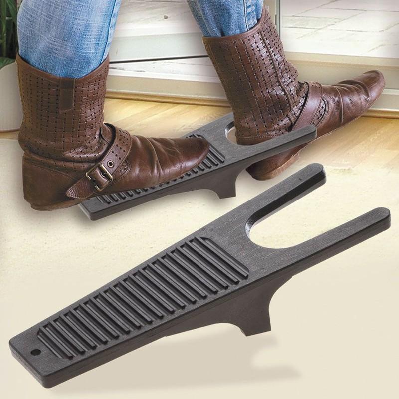 Не любите нагибаться для снятия обуви? Ученые подумали и о вас!  изобретения, ноу-хау, прикол, юмор