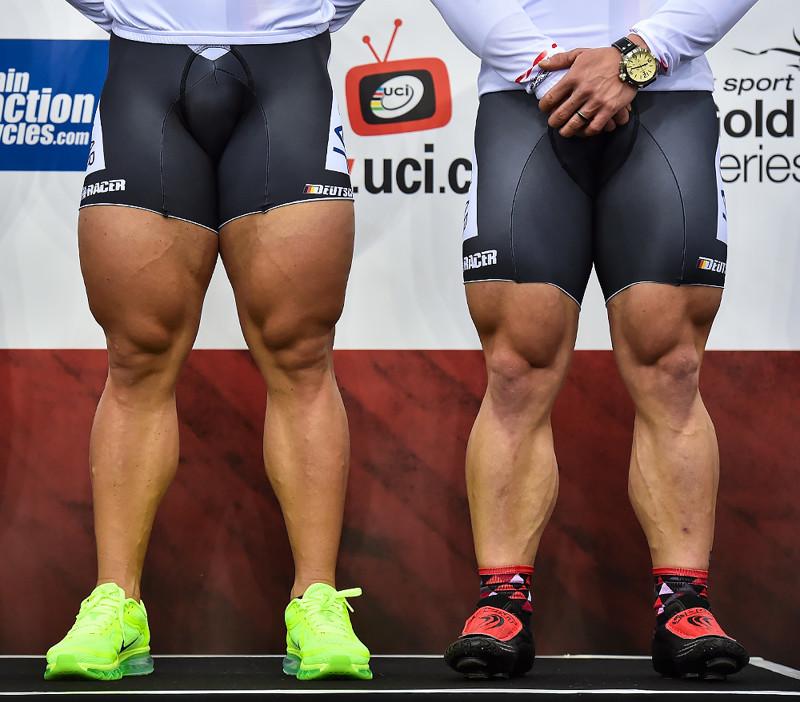 Иной раз даже страшно становится, когда смотришь на этих велосипедистов. День ног, ноги, прикол, тренировки, юмор