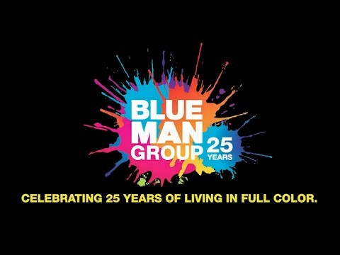 Blue Man Group 25 лет !