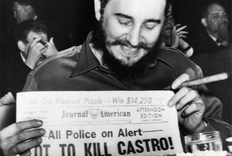 3. Планы по убийству Фиделя Кастро военное дело, секреты, сша, факты