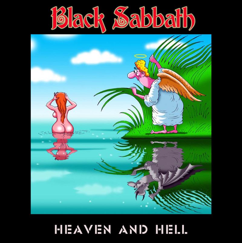 "2. Black Sabbath ""Heaven and Hell"" covers, music, прикол, юмор"