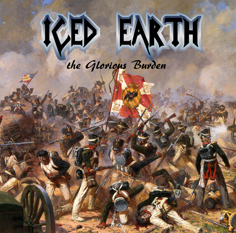 "5. Iced Earth ""The Glorious Burden"" covers, music, прикол, юмор"