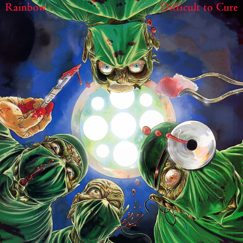 "9. Rainbow ""Difficult to Cure"" covers, music, прикол, юмор"