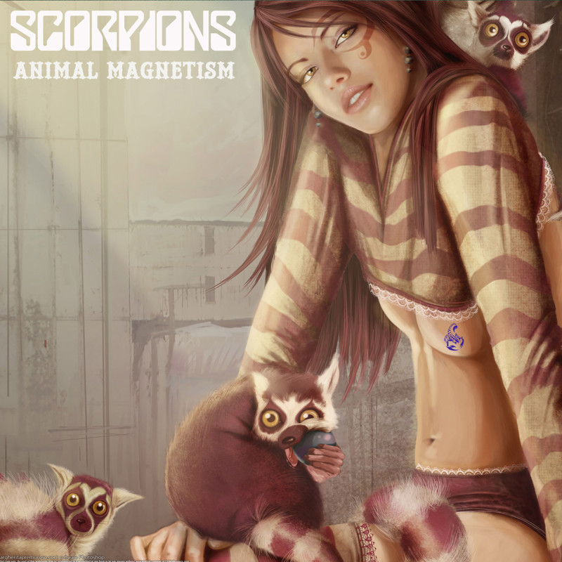 "11. Scorpions ""Animal Magnetism"" covers, music, прикол, юмор"