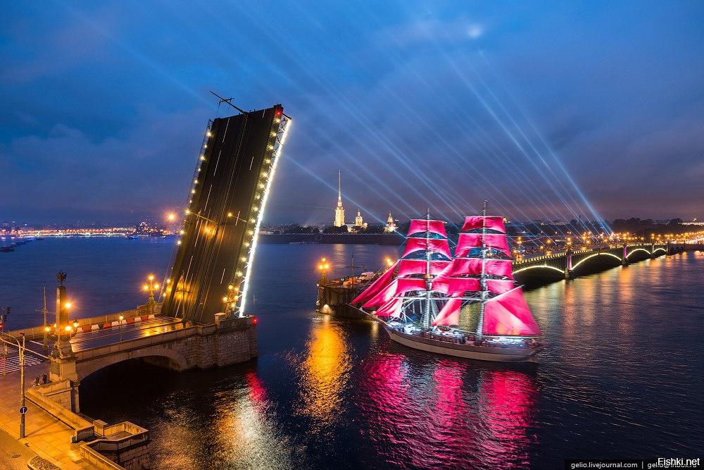 алые паруса в санкт-петербурге 2016