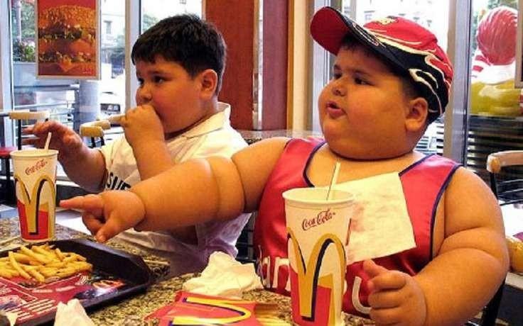 10. Детское ожирение