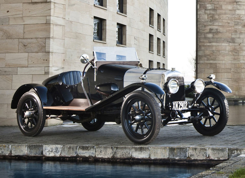 Aston Martin «Coal Scuttle» (1914) авто, история, факты