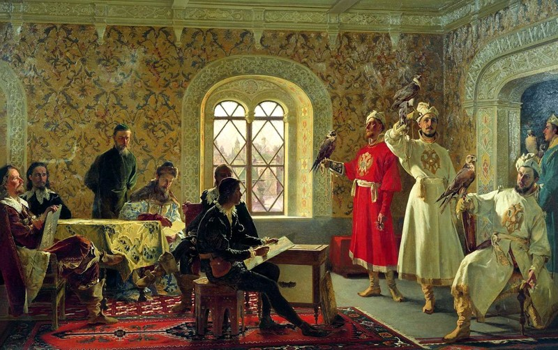 Сокол на Руси был одним из самых ценных подарков СССР, история, российская империя, россия, факты