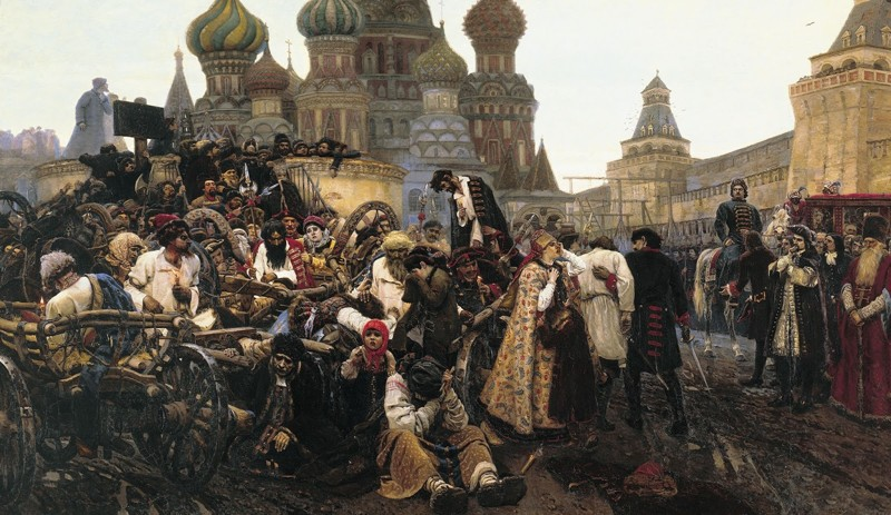 Пётр Первый лично пытал и убивал людей СССР, история, российская империя, россия, факты