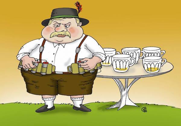Смешные рисунки про германию
