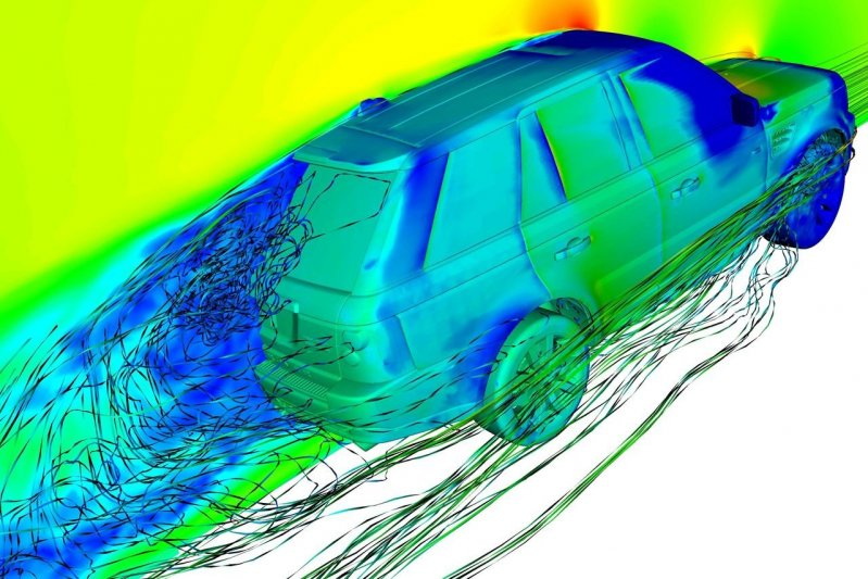 a discussion on the aerodynamics in cars