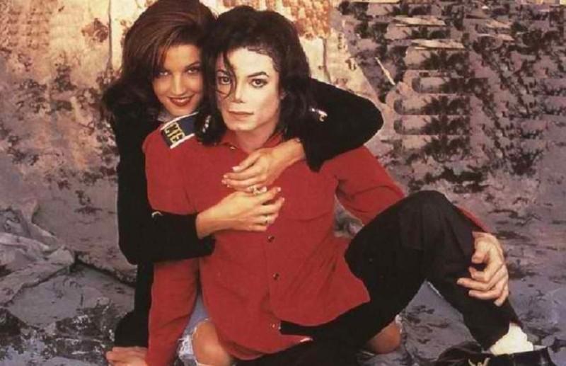 5. Майкл Джексон и Лиза Мария Пресли голливуд, истории, любовь